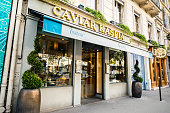 Caviar Kaspia Shop in Paris, France