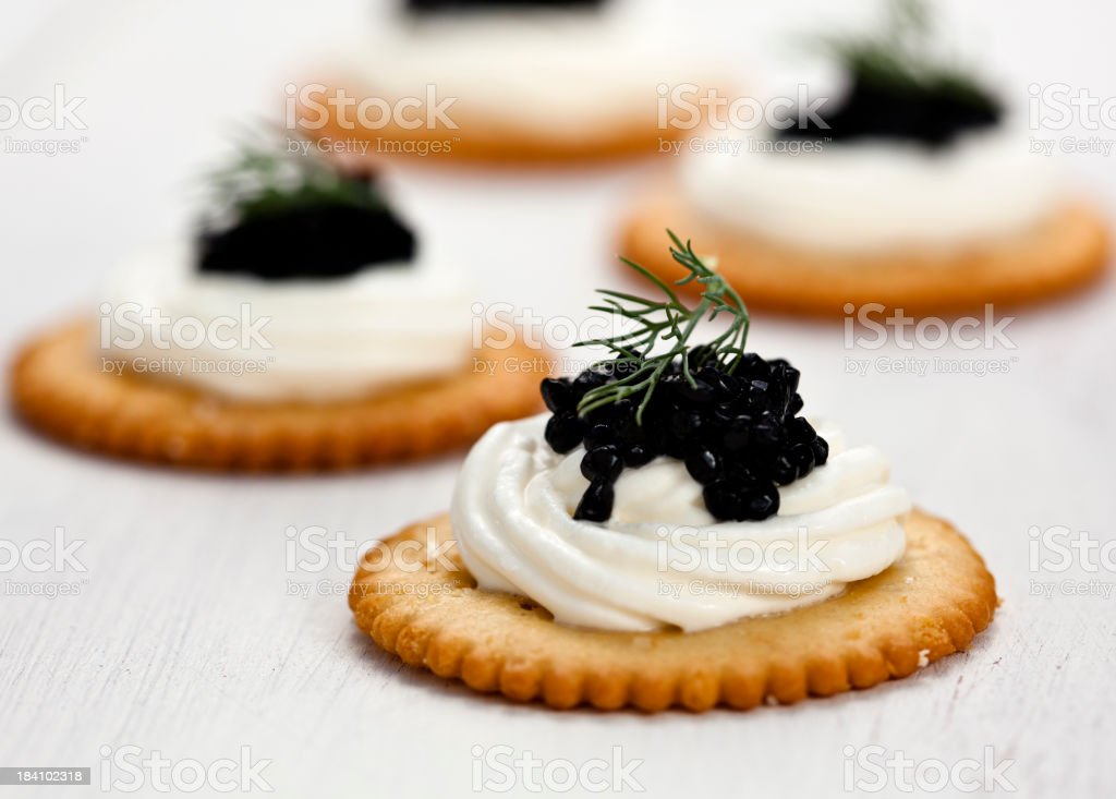Caviar stock photo