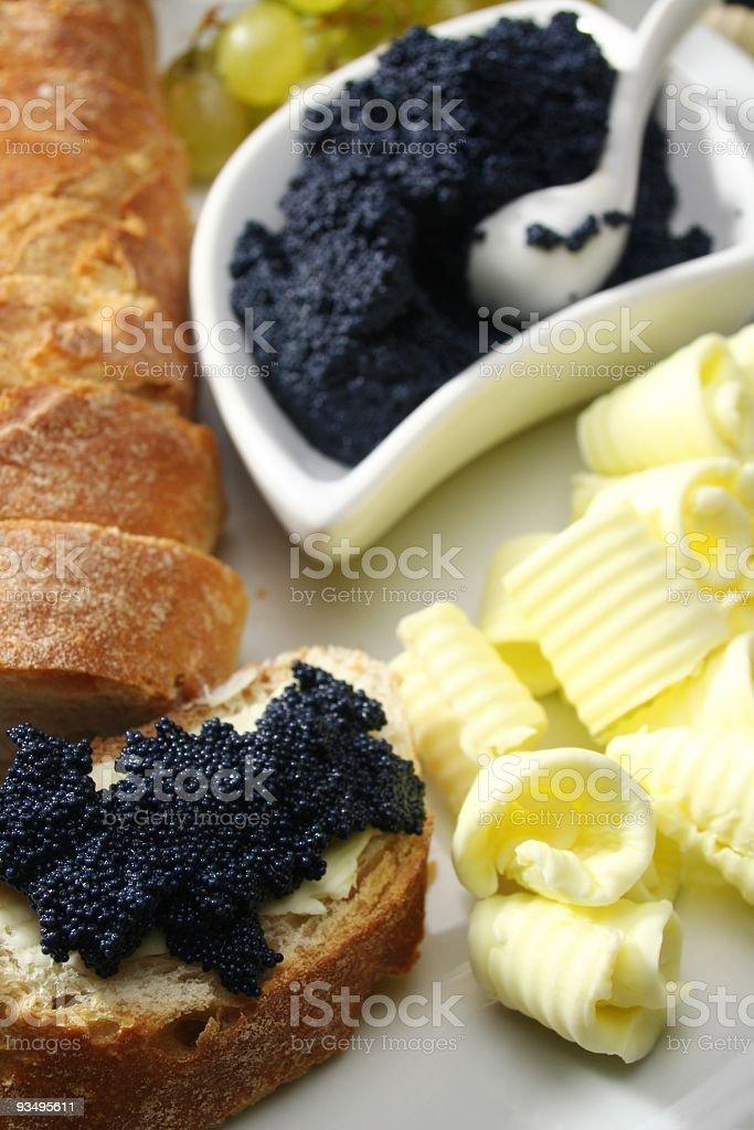 Caviar royalty-free stock photo