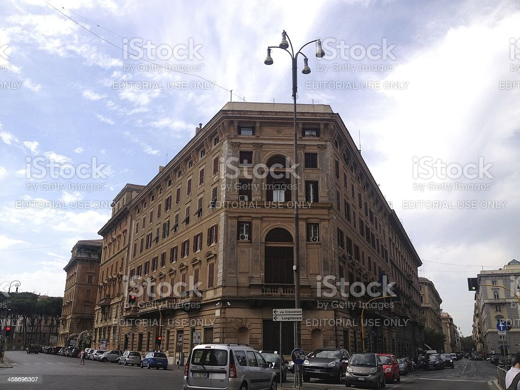 Cavour Square royalty-free stock photo