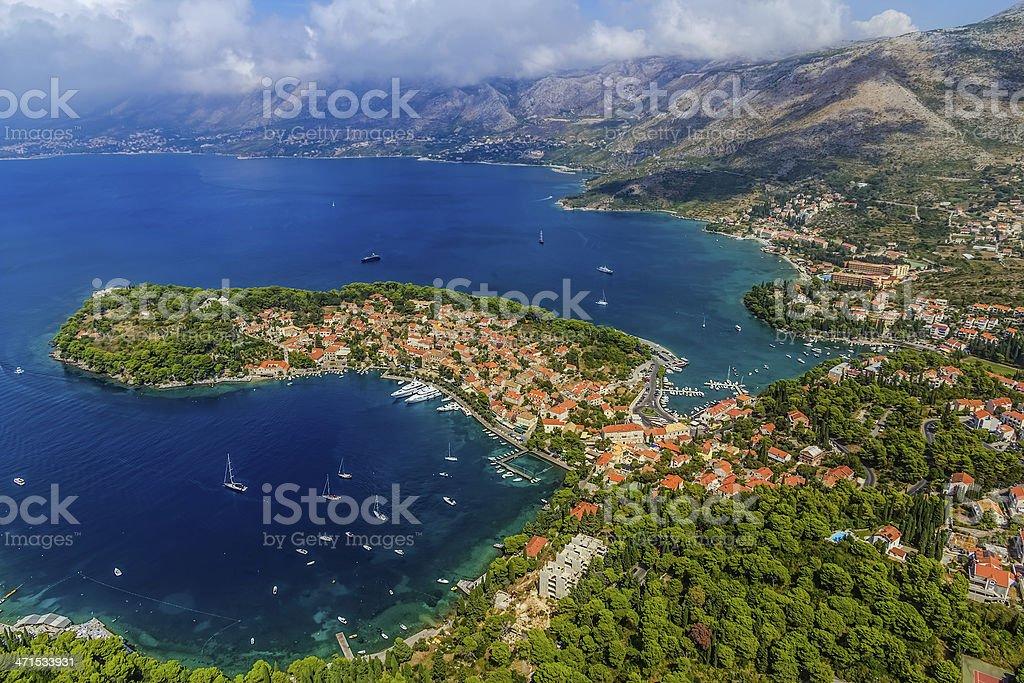 Cavtat, Croatia stock photo