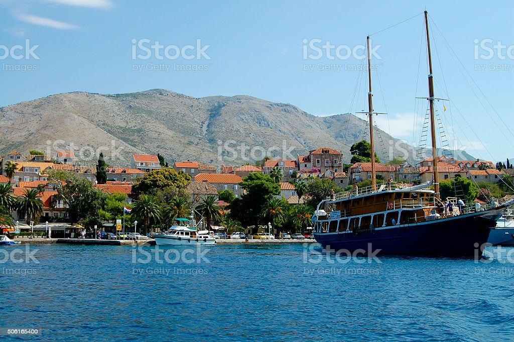 Cavtat - Croatia stock photo