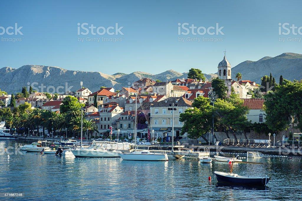 Cavtat in Croatia stock photo