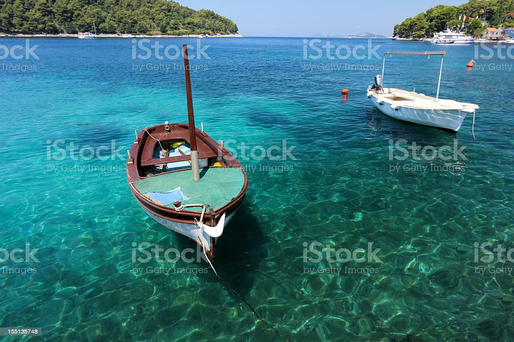 Cavtat in Dalmatia, Croatia royalty-free stock photo