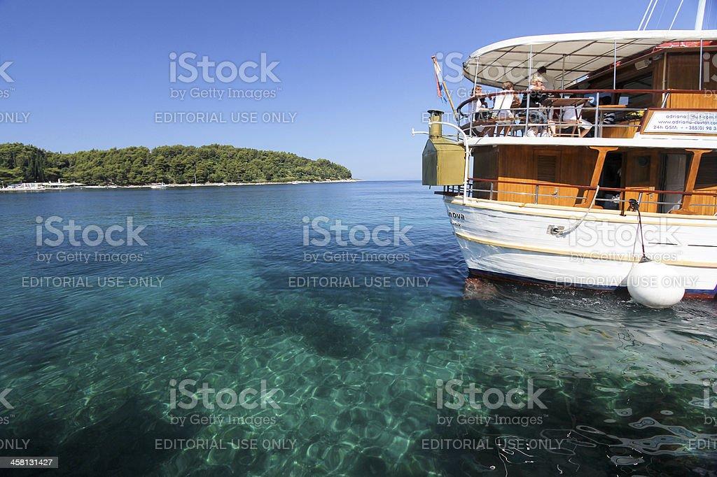 Cavtat in Dalmatia, Croatia stock photo