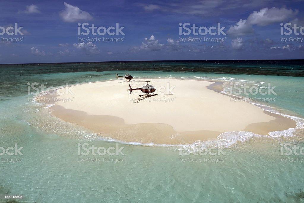 cay great barrier reef queensland australia stock photo