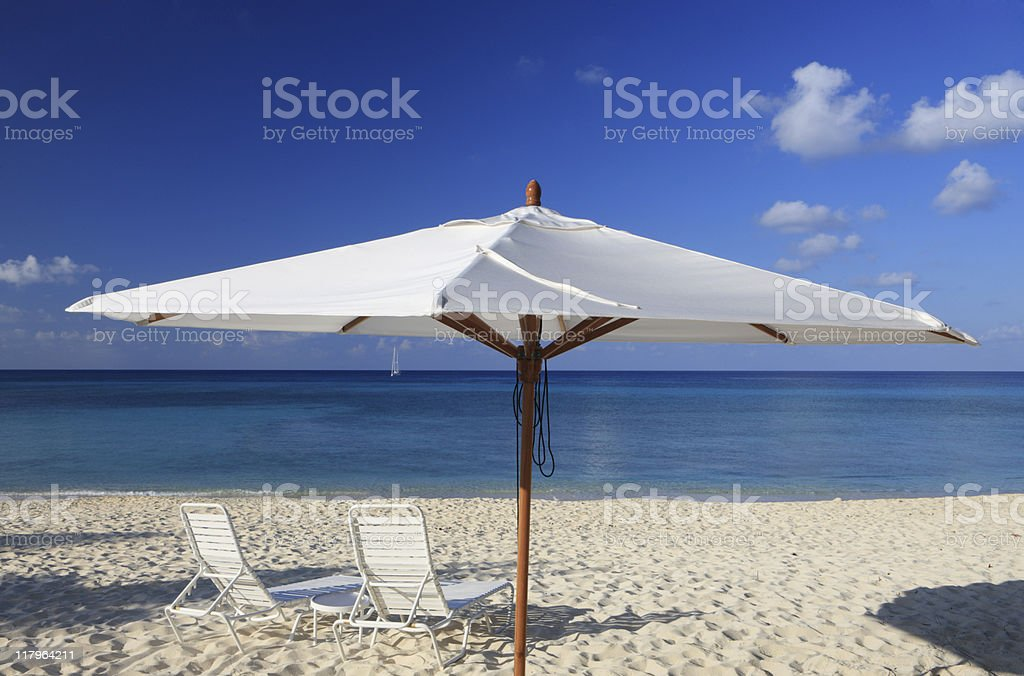 Cayman Islands Beach Scenic royalty-free stock photo