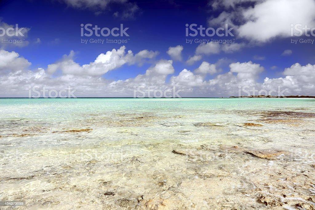 Cayo Coco Beach stock photo