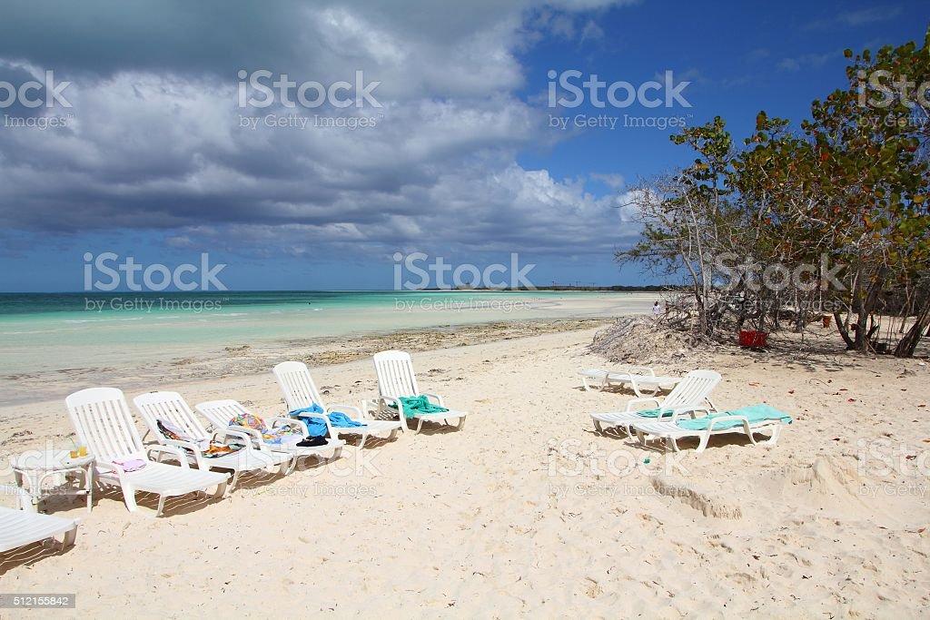 Cayo Coco, Cuba stock photo