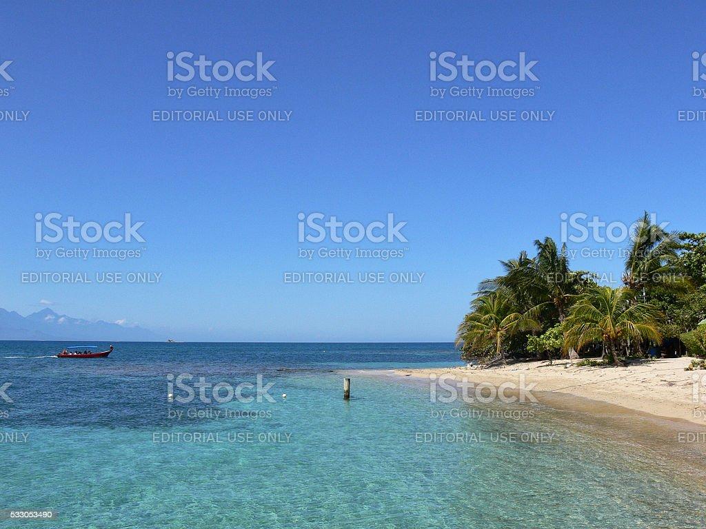 Cayo Menor beach stock photo