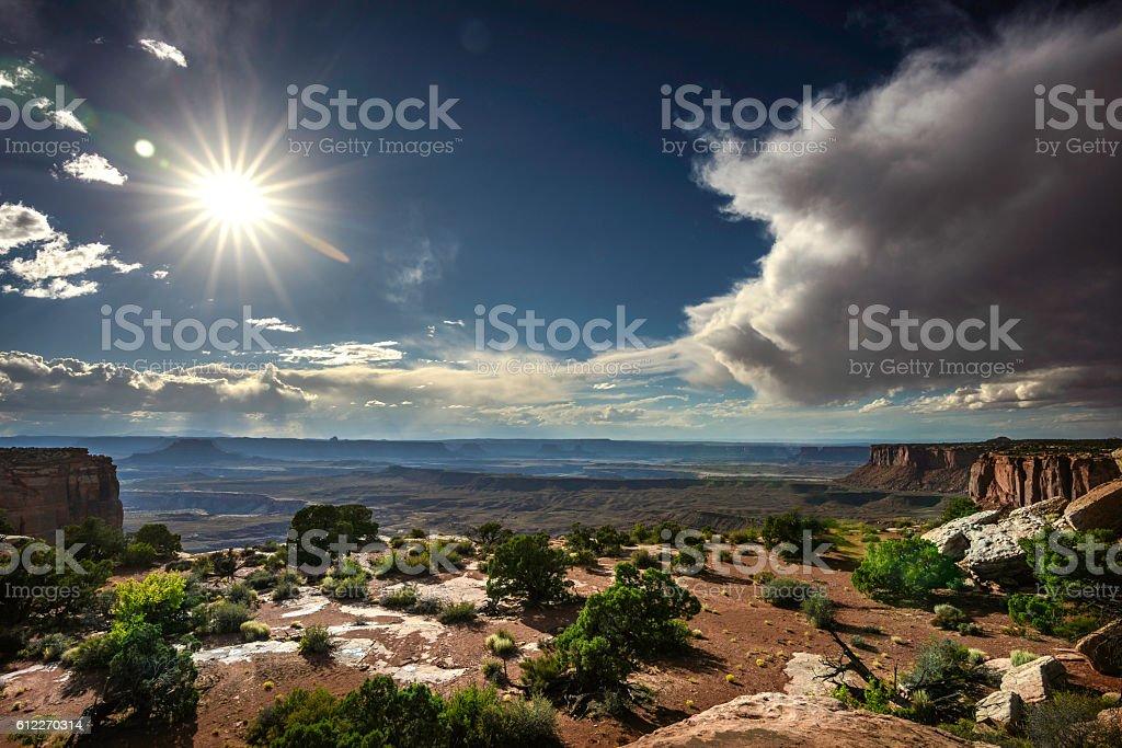 Cayonlands National Park stock photo