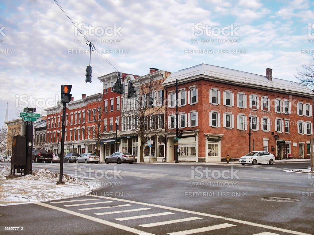 Cazenovia, New York stock photo