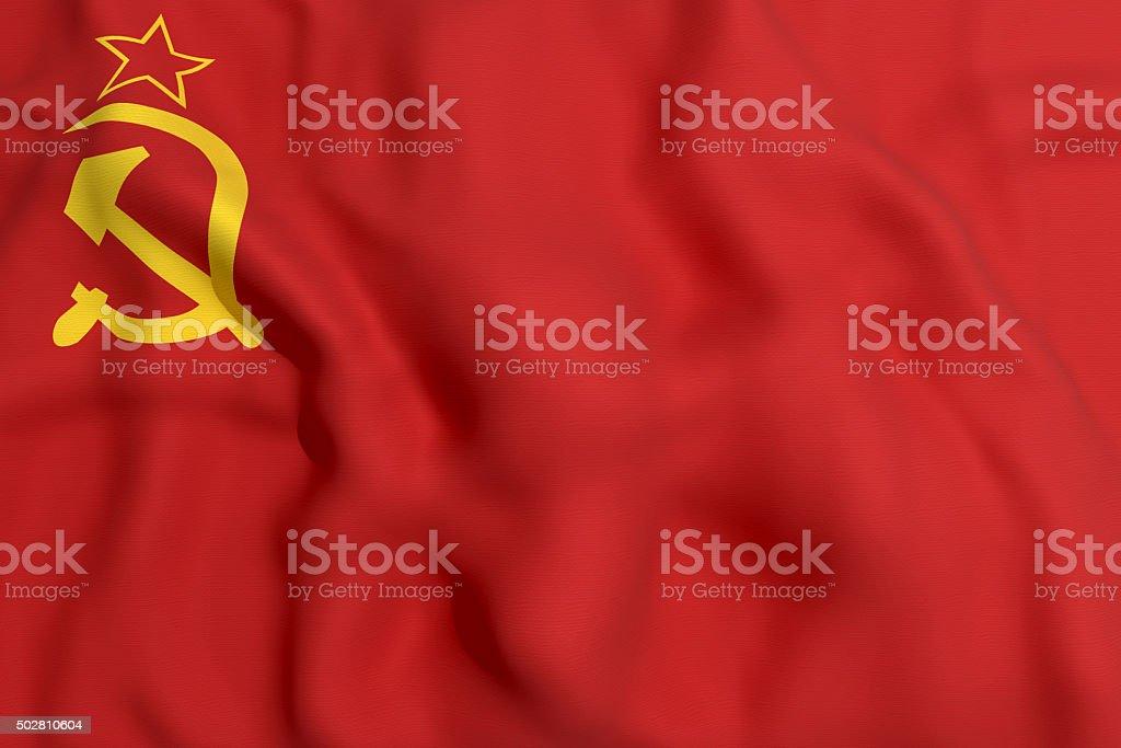 cccp flag stock photo