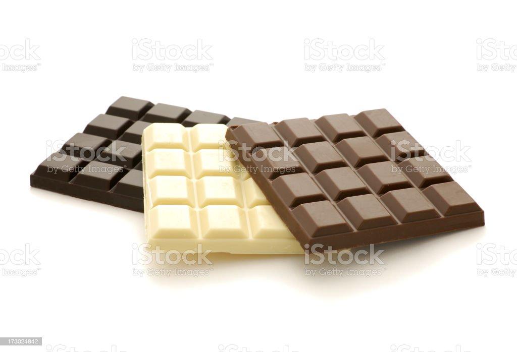 cchocolate bars stock photo