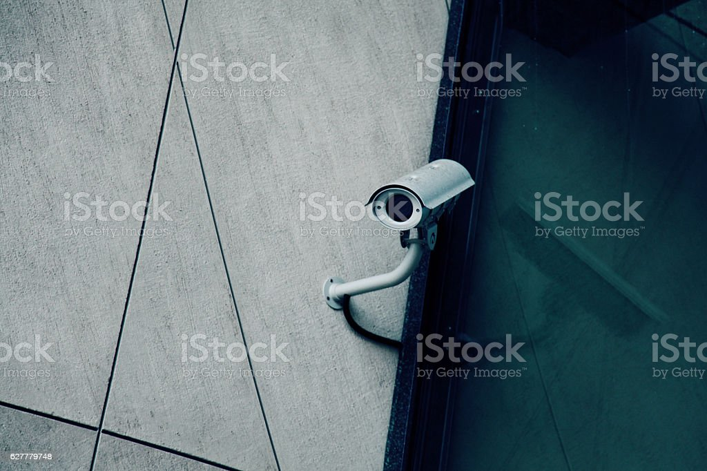 cctv camera video monitoring security system protection alarm watch guard stock photo