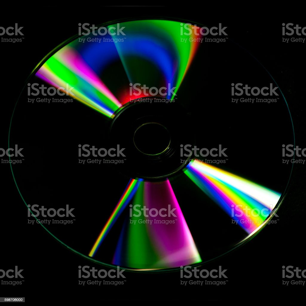 cd disk abstract background stock photo