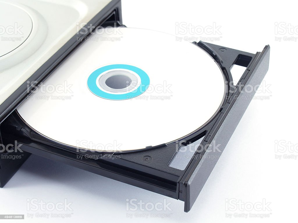 Cd or Dvd drive stock photo