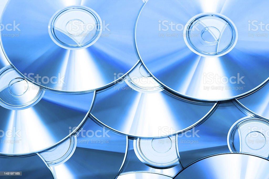 Cd ou DVD romes de fundo foto de stock royalty-free