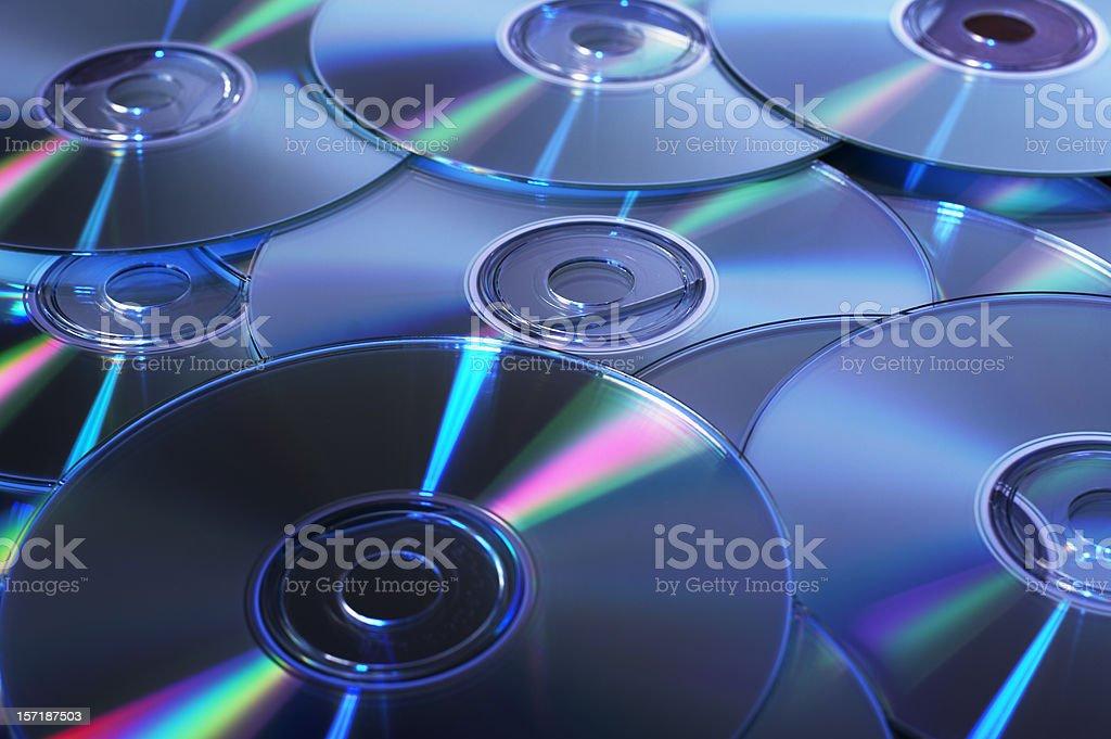 CDs royalty-free stock photo