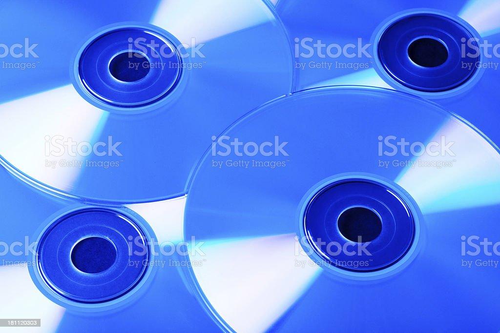 CDs stock photo