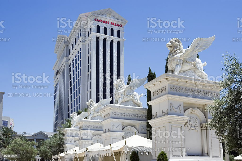 Ceasers Palace Griffins royalty-free stock photo