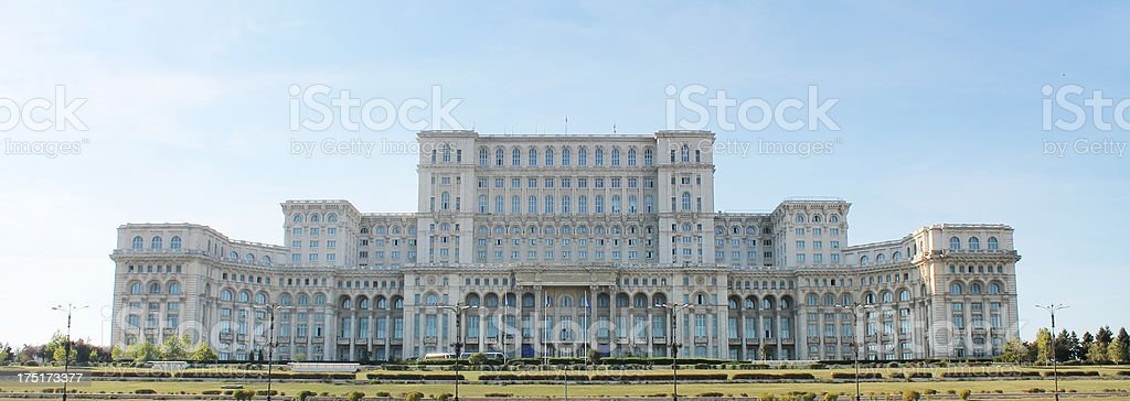 Ceausescu's Palace, Bucharest royalty-free stock photo