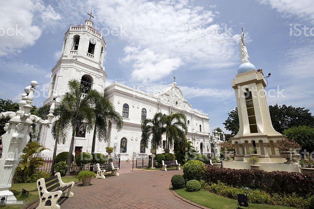 Cebu Cathedral stock photo