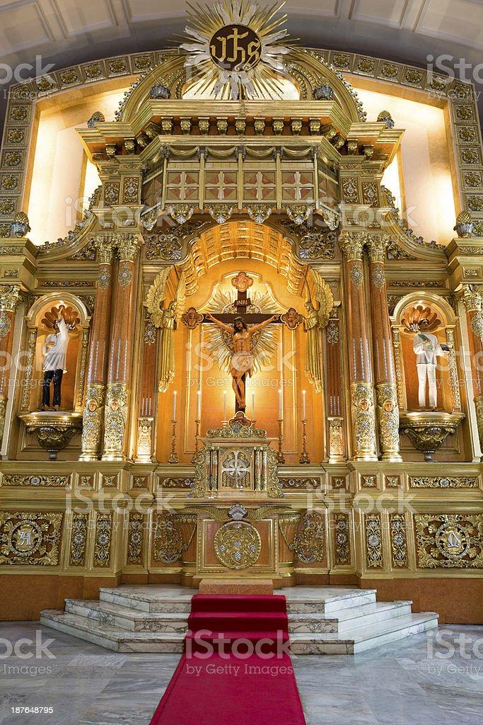 Cebu Cathedral royalty-free stock photo