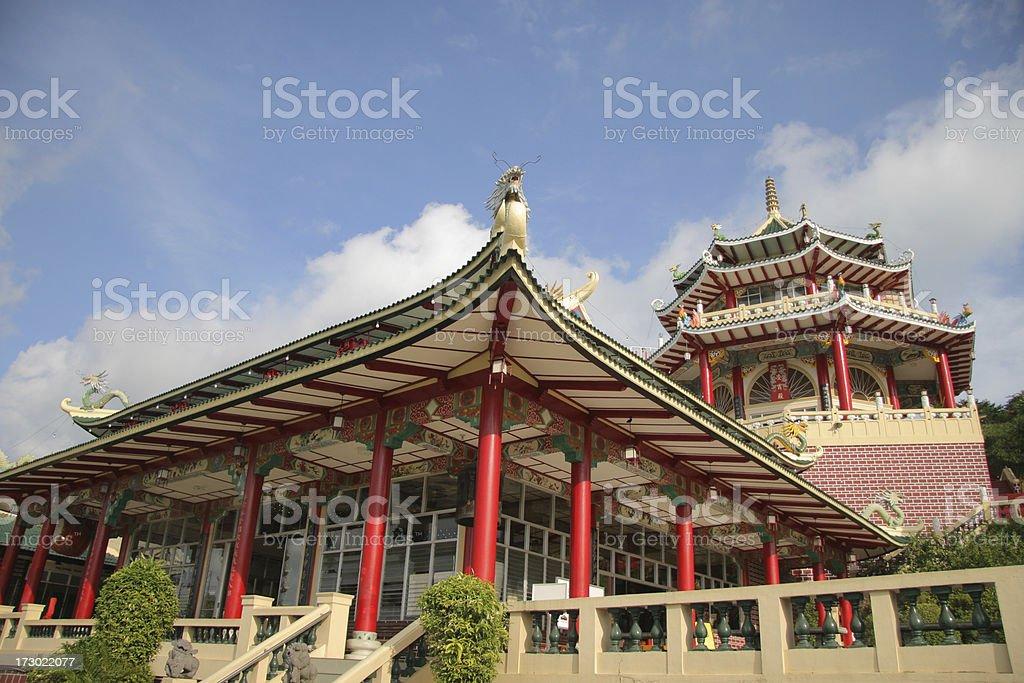 Cebu Taoist Temple royalty-free stock photo