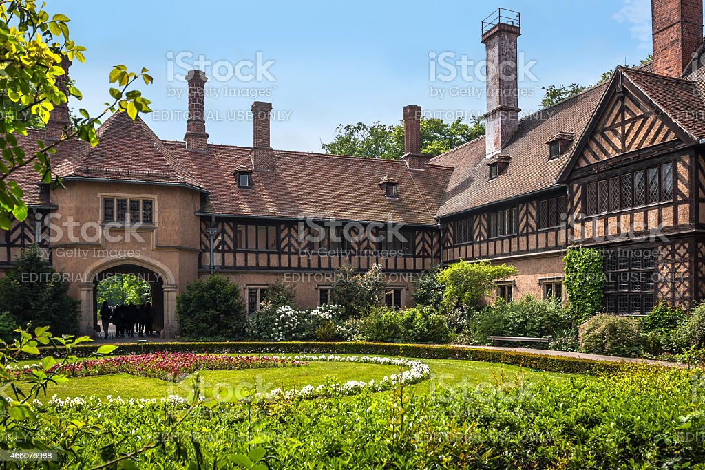 Cecilienhof Palace and its surroundings, Potsdam, Berlin stock photo