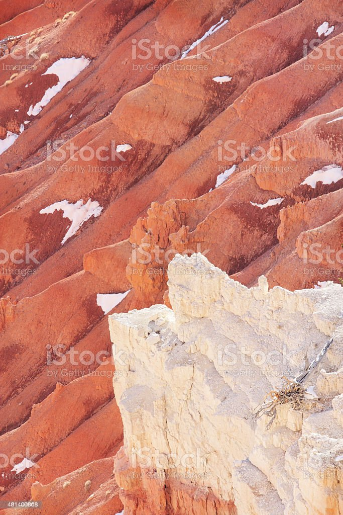 Cedar Breaks National Monument Badlands Canyon stock photo