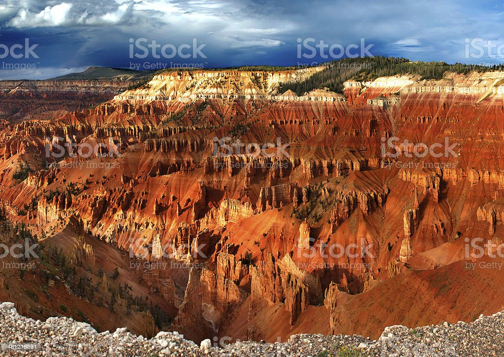 Cedar Breaks National Monument stock photo