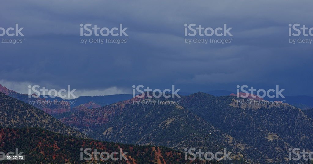 Cedar Breaks Storm Cloud stock photo