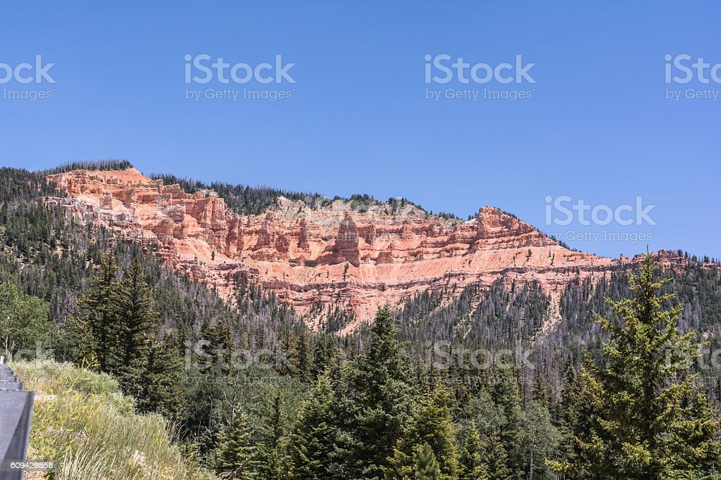 Cedar Breaks, Utah stock photo