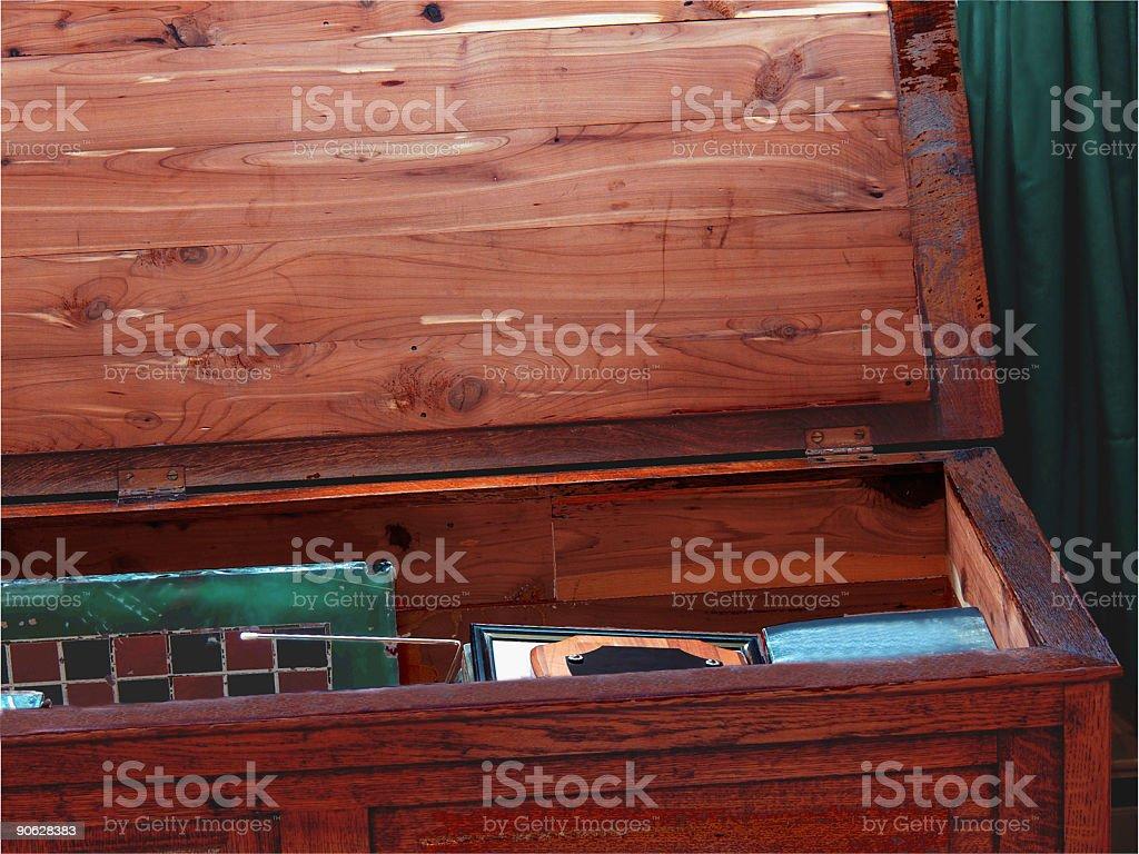 Cedar do peito foto royalty-free