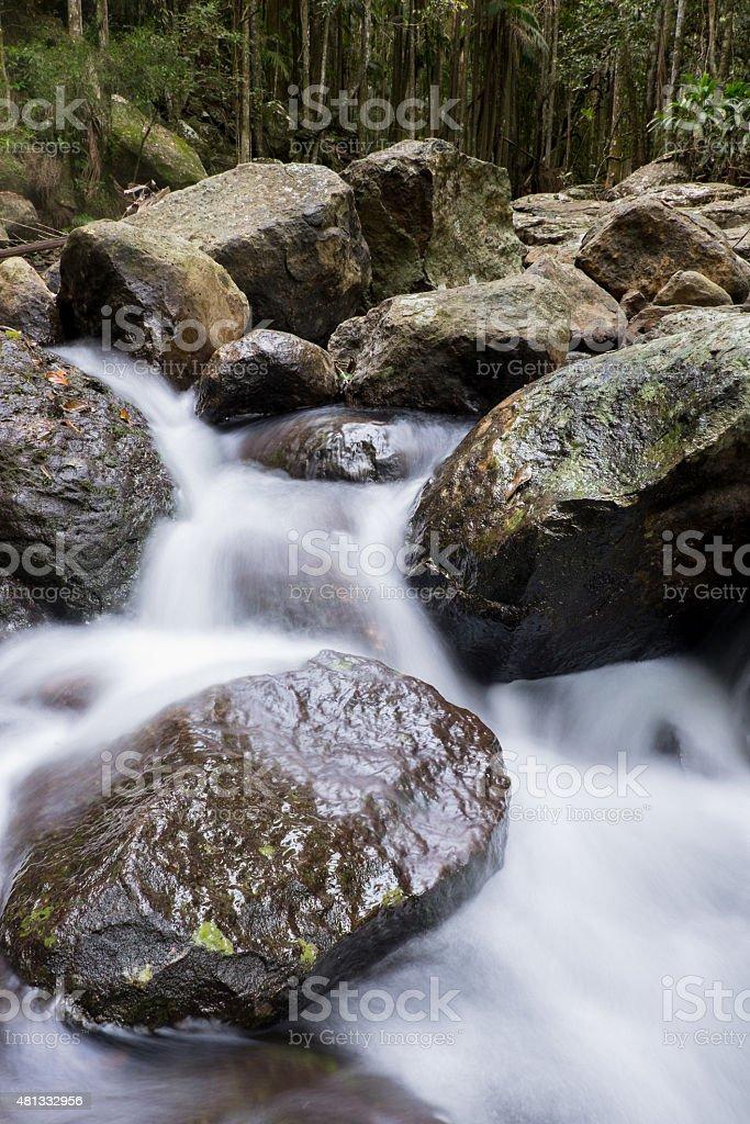 Cedar Creek Cascades stock photo
