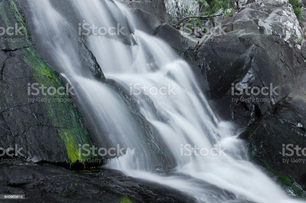 Cedar Creek Falls in Mount Tamborine stock photo