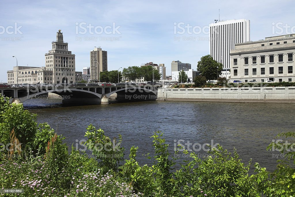 Cedar Rapids stock photo