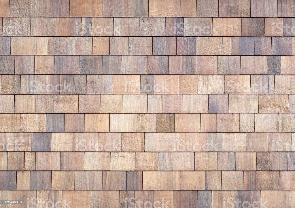 Cedar Shingles royalty-free stock photo