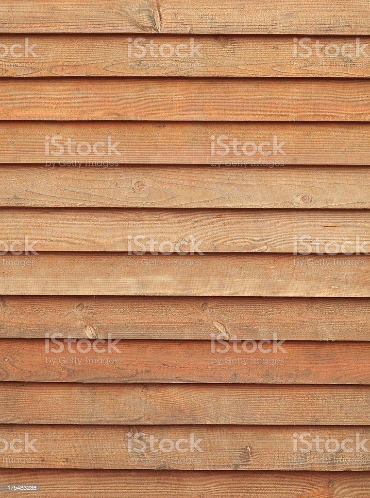 Cedar Siding royalty-free stock photo