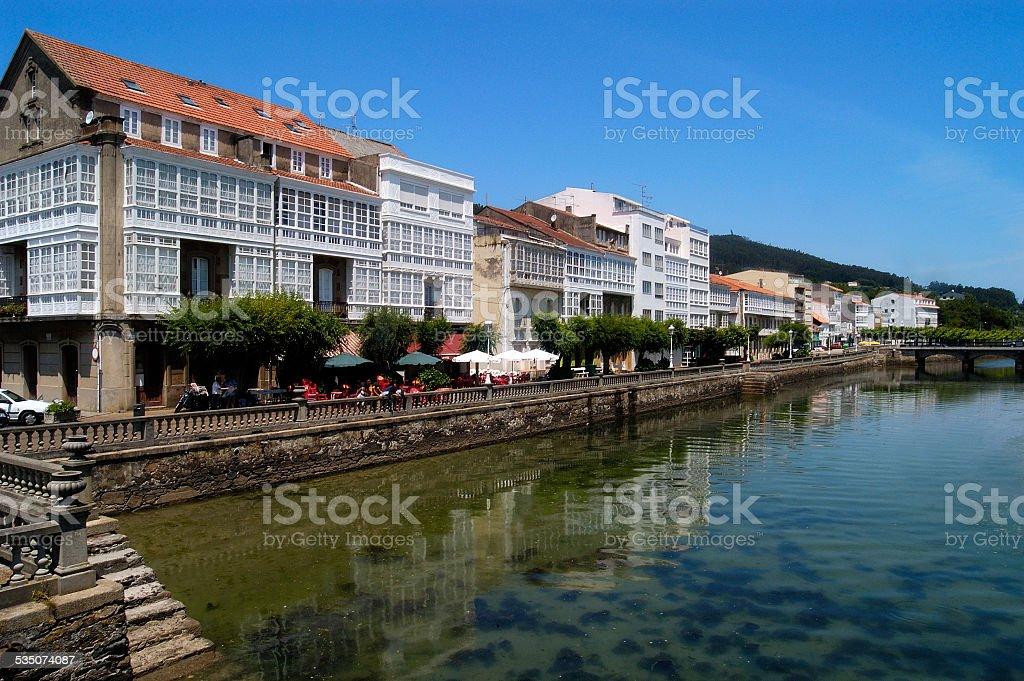 Cedeira, Galicia, Spain stock photo