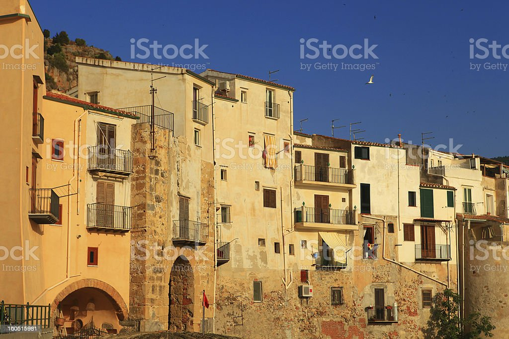 Cefalu, Sicily, Italy stock photo