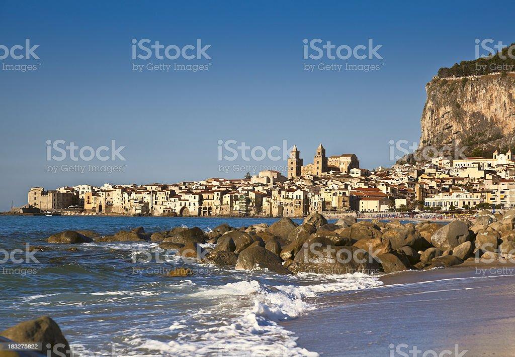 'Cefalu, Sicily, Italy.' stock photo