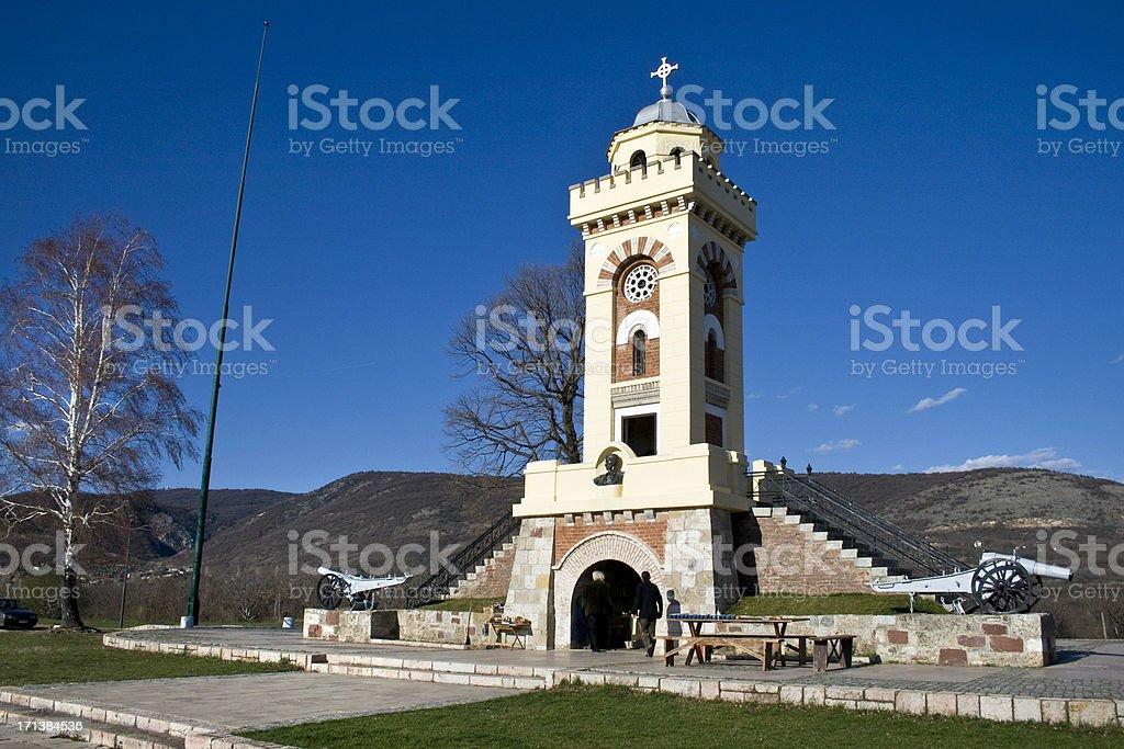 Cegar monument stock photo
