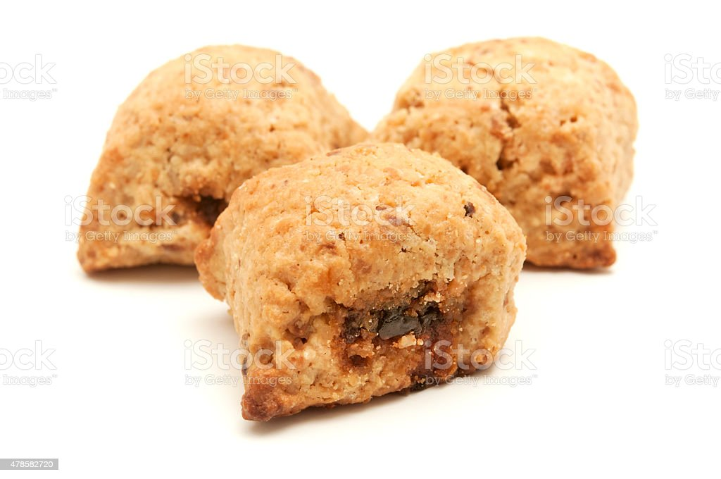 Ceglie biscuits stock photo