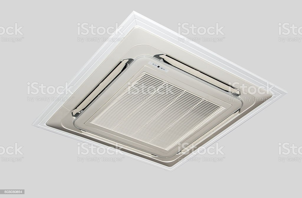 ceiling air conditioning unit stock photo