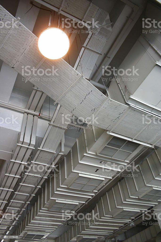 ceiling cool 3 royalty-free stock photo