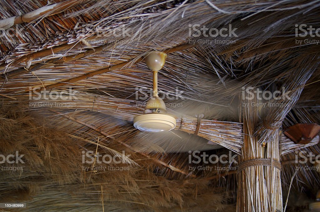 Ceiling fan royalty-free stock photo