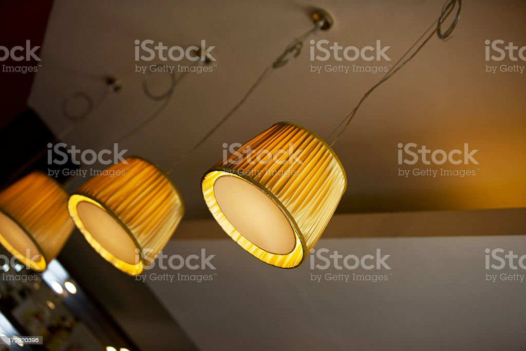 Ceiling Lamps royalty-free stock photo