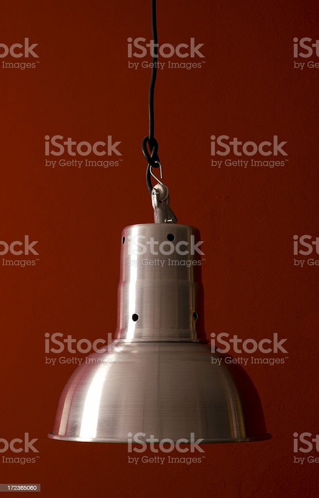 Ceiling light w/Clipping Path royalty-free stock photo